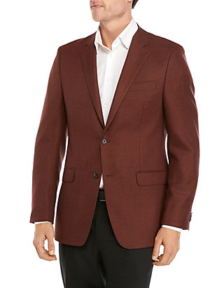 Austin Reed Dark Rust Solid Sport Coat Belk