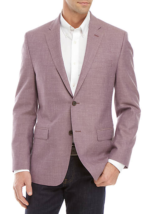 Austin Reed Solid Purple Blazer Belk