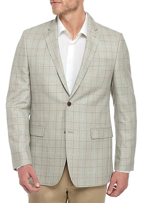 Light Brown Plaid Sportcoat