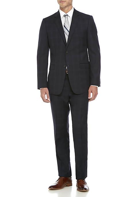 Austin Reed Two Piece Plaid Suit Belk