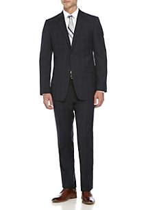 Two-Piece Plaid Suit