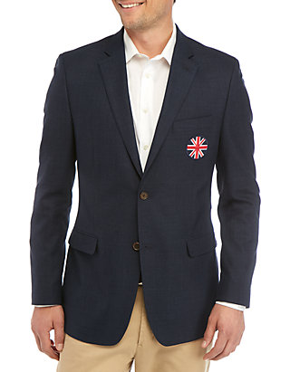 Austin Reed Navy Union Crest Jacket Belk