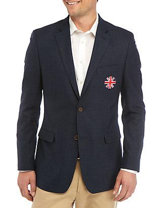 Austin Reed Navy Union Crest Jacket Belk