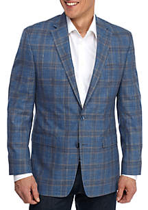 Blue Plaid Sportscoat