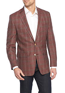 Red Large Multi Plaid Sportcoat