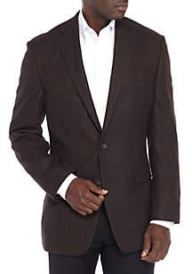 Brown Herringbone Sportcoat
