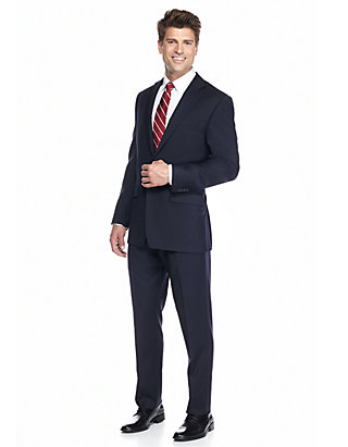 Austin Reed Navy Solid Suit Belk