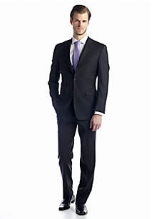 Austin Reed Charcoal Solid Basic Suit