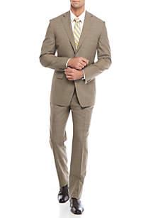 Classic-Fit Tic Suit