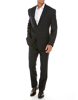 Austin Reed Navy Stripe Suit Belk