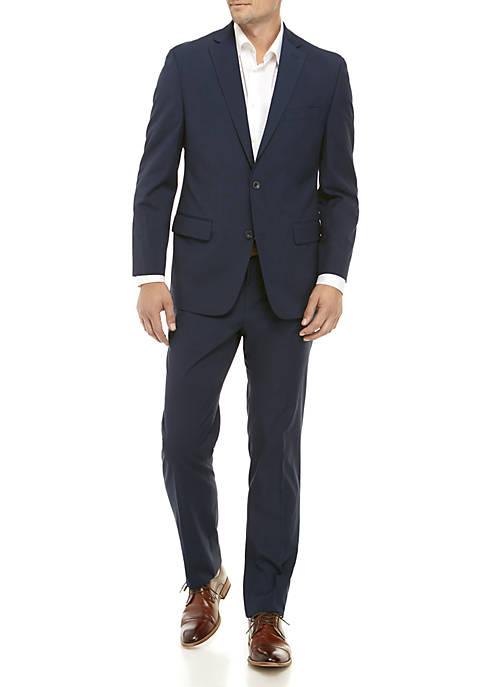 MICHAEL Michael Kors Blue Tic Suit