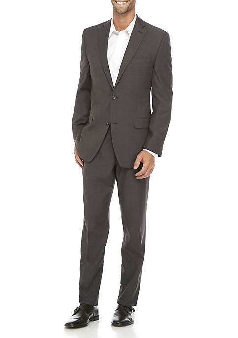 MICHAEL Michael Kors Brown Tic Suit
