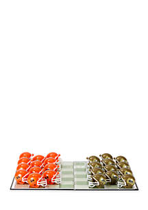 Syracuse Orange Checker Set