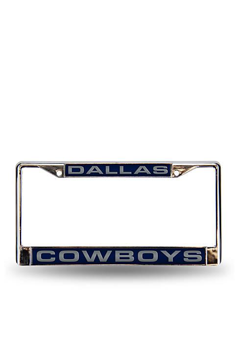 Rico Industries Dallas Cowboys Blue Chrome License Frame-Online