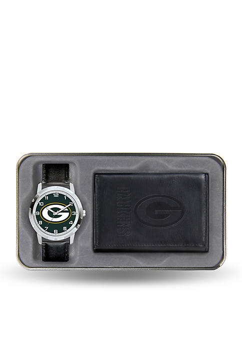 Rico Industries Green Bay Packers Black Watch and