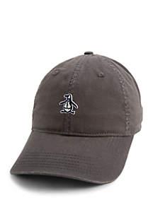 50f308679de ... Original Penguin Sticker Pete Baseball Cap