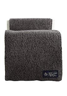 Original Penguin Two Tone Knit Scarf