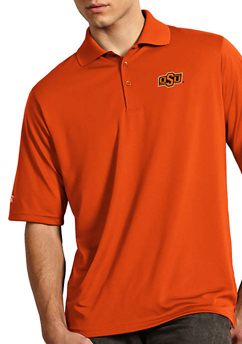 Antigua® Oklahoma State Cowboys Exceed Short Sleeve Polo