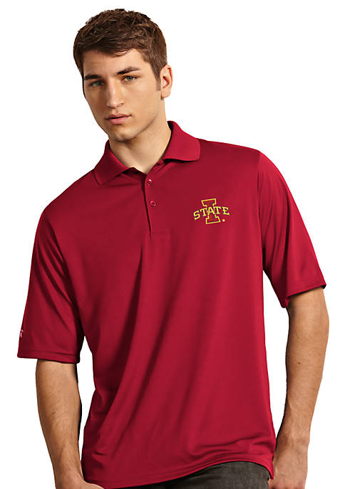 Antigua® Iowa State Cyclones Exceed Polo