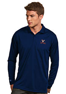 Virginia Cavaliers Long Sleeve Exceed Polo