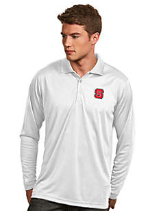 NC State Wolfpack Long Sleeve Exceed Polo