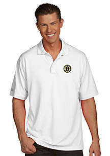 Boston Bruins Men's Pique Xtra Lite Polo