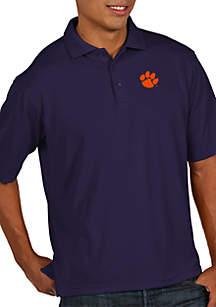 Clemson Tigers Pique Xtra Lite Polo