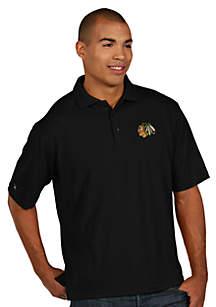 Chicago Blackhawks Men's Pique Xtra Lite Polo