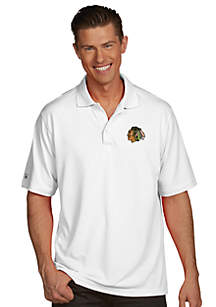 Chicago Blackhawks Men's Pique Xtra Lite Polo