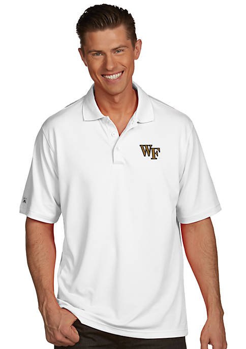 Wake Forest Demon Deacons Mens Pique Xtra Lite Polo