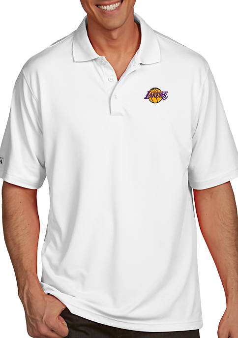 Antigua® LA Lakers Mens Pique Xtra Lite Polo