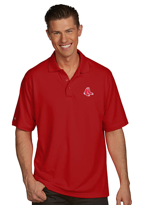 Antigua® Boston Red Sox Pique Xtra Lite Polo