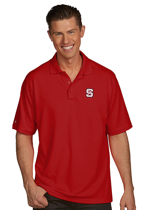 Antigua® NC State Wolfpack Pique Xtra Lite Polo