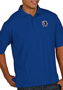 Dallas Mavericks Mens Pique Xtra Lite Polo
