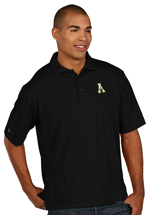 Antigua® Appalachian State Mountaineers Mens Pique Xtra Lite