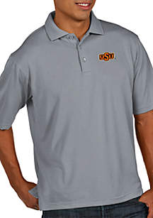 Oklahoma State Cowboys Men's Pique Xtra Lite Polo