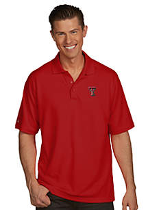 Texas Tech Red Raiders Men's Pique Xtra Lite Polo