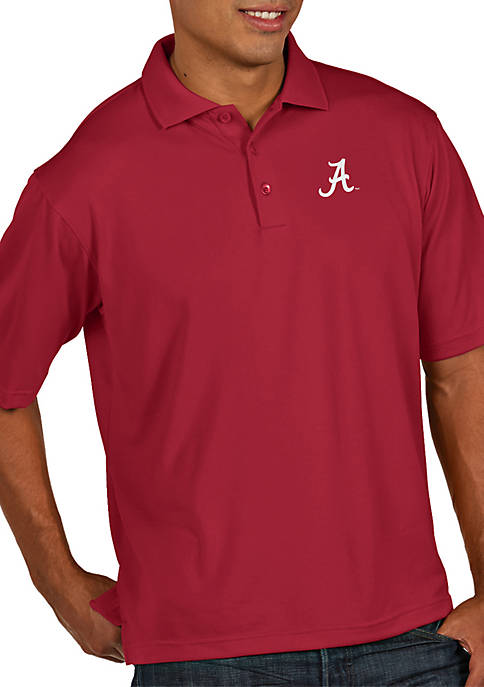Antigua® Alabama Crimson Tide Pique Xtra Lite Polo