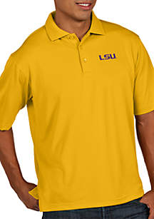 LSU Tigers Pique Xtra Lite Polo