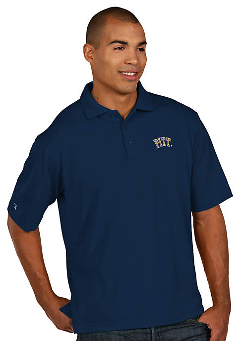 Antigua® Pittsburgh Panthers Mens Pique Xtra Lite Polo