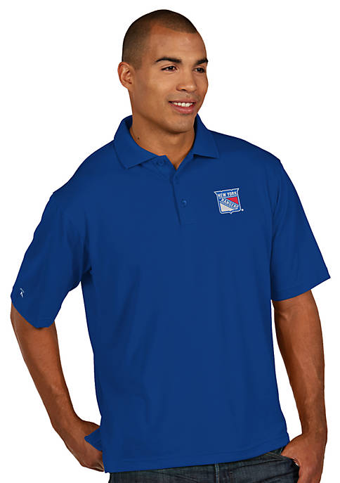 Antigua® New York Rangers Mens Pique Xtra Lite