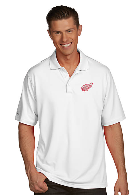 Antigua® Detroit Red Wings Mens Pique Xtra Lite