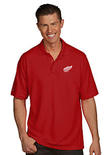 Detroit Red Wings Men's Pique Xtra Lite Polo