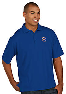 New York Mets Pique Xtra Lite Polo
