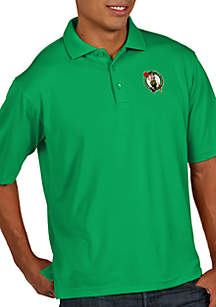 Boston Celtics Mens Pique Xtra Lite Polo