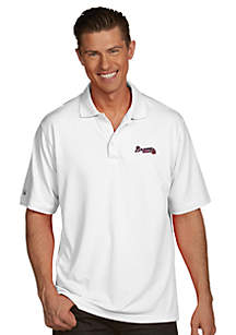 Antigua® Atlanta Braves Pique Xtra Lite Polo