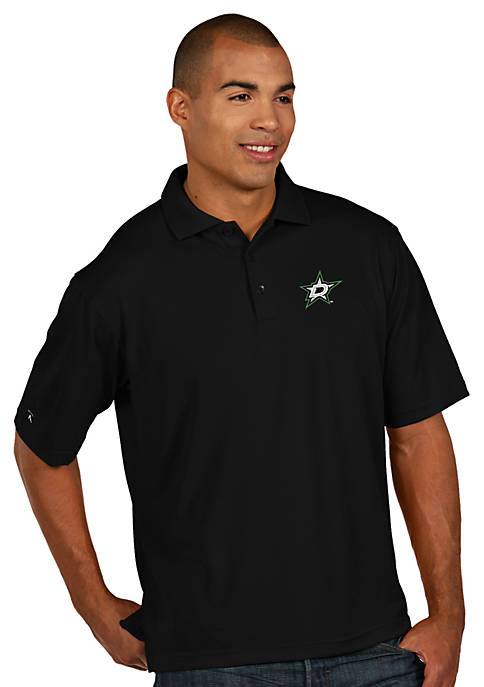 Antigua® Dallas Stars Mens Pique Xtra Lite Polo