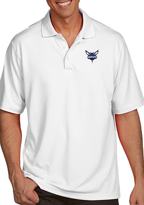 Antigua® Charlotte Hornets Mens Pique Xtra Lite Polo