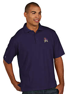 East Carolina Pirates Men's Pique Xtra Lite Polo