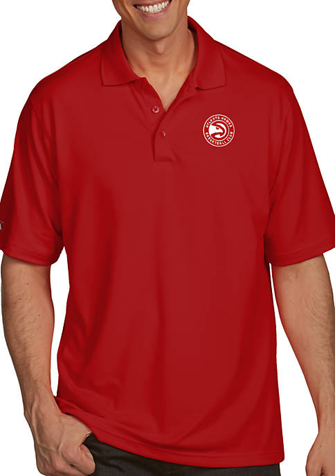 Antigua® Atlanta Hawks Mens Pique Xtra Lite Polo